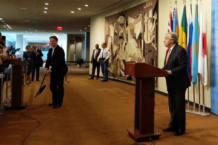 Генсек ООН не згоден з Президентом США щодо статусу Єрусалиму