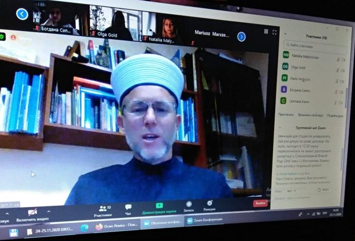 «Несмотря на все преграды, ничто не помешает участникам Школы исламоведения собираться в любом формате» — председатель УЦИИ