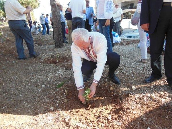 В Аммане будут расти украинские деревья