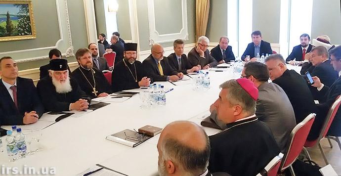Створення Всеукраїнської релігійної ради допоможе висвітлити позиції всіх релігійних організацій