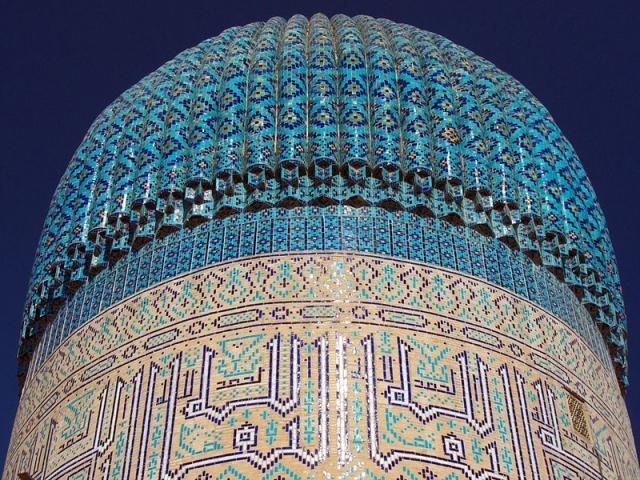 Купол мавзолею Гур Емір в Самарканді