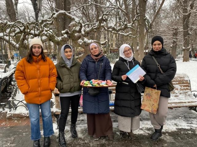 ©️ Женский отдел ИКЦ «Аль-Масар», Одесса/Фейсбук: