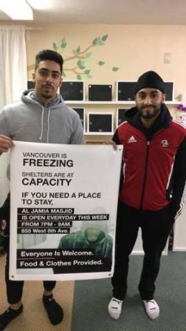Канадські мусульмани рятують безхатніх від холоду