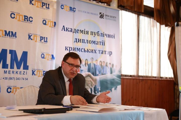 Академія публічної дипломатії кримських татар почала роботу в Києві