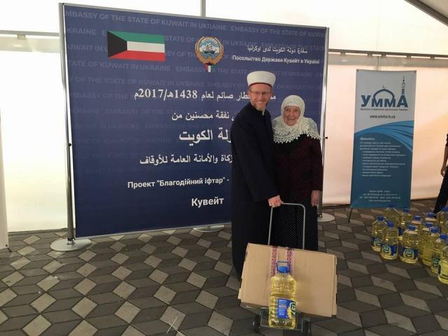 Продуктові набори малозабезпеченим — добра традиція в Рамадан