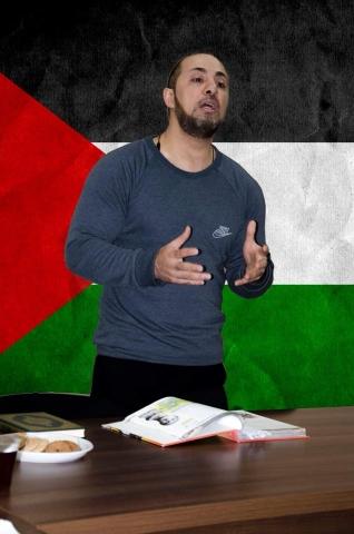 Тарік Сархан оголошує естафету #What_do_you_know_about_Palestine_Challenge
