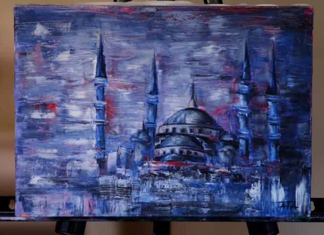 Татьяна Дилмач: Искусство для меня — это некий шанс уловить и передать на полотне то прекрасное, что создано Всевышним