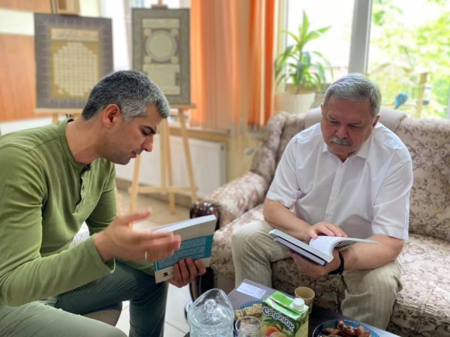 Мирослав Маринович відвідав Ісламський культурний центр ім. Мухаммада Асада