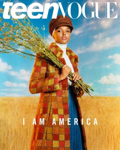 Фотографія Халіми Аден прикрасила обкладинку журналу Teen Vogue