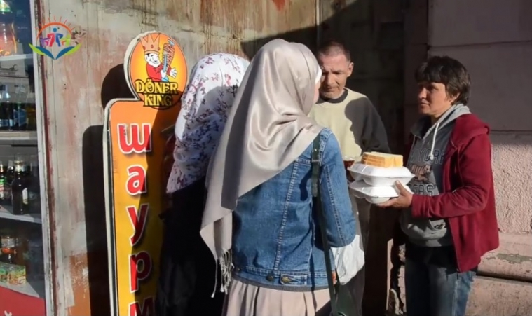 """Homemade Meals for Poor: """"Feed the Hungry"""" Benefit in Dnipro"""