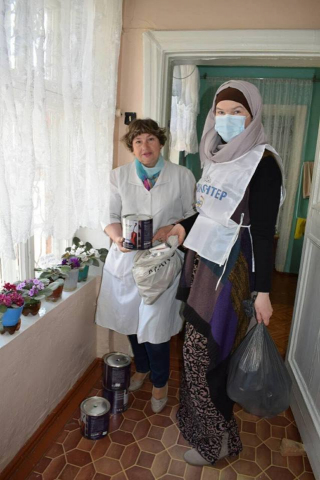 "Odesa Muslimahs Add ""Prolonged Charity"" to Their Usual Activities"