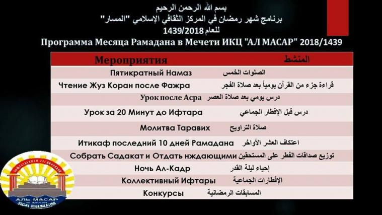 Українські мусульмани проведуть Рамадан з максимальною користю для душі, серця і розуму