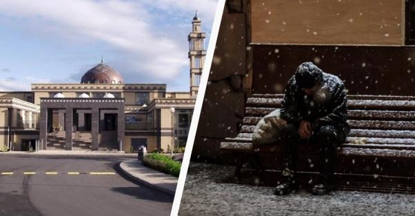 Ірландські мусульмани відкрили мечеть для застигнутих морозами людей