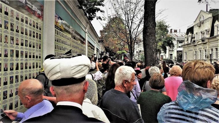 На Михайлівській площі - мусульманська молитва за полеглих оборонців