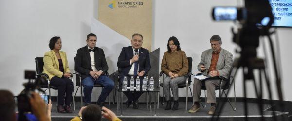 ©️УКМЦ: 24.10.2019, во время презентации перевода Всеобщей декларации прав человека на крымскотатарском