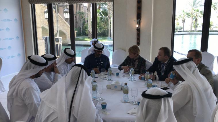 © ️МОН: 11.02.2019 г., Дубай, встреча министра образования и науки Украины с министром образования ОАЭ