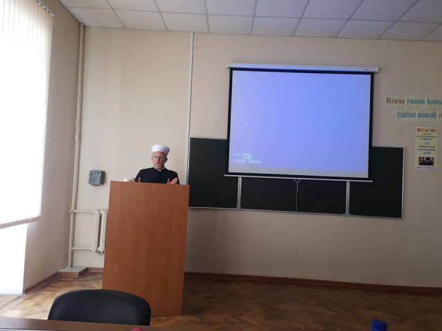 ©️Ольга Голд: Робота  науково-практичної конференції «Іслам у сучасній Україні»  в Одеському нацуніверситеті ім. І. Мечникова