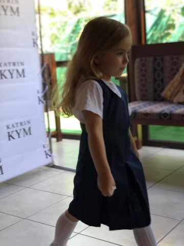 ©️Mava Kim: 26.06.2019, показ колекції шкільної форми від  Katrin KYM: