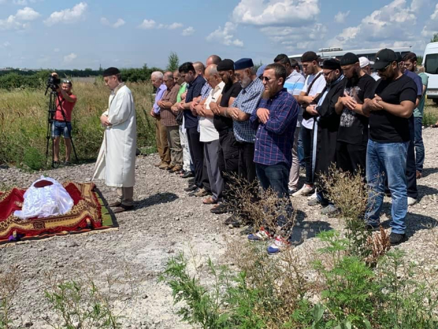 Fallen soldier Shamil Rumygin was buried on Dnipro Muslim Cemetry