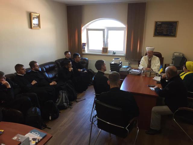 Фейсбук / Саід Ісмагілов: 02.10.2019 р., семінаристи УГКЦ в київському ІКЦ