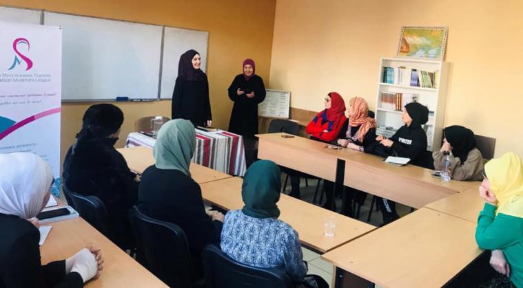 У Львові магістр шаріатського права шейха Анастасія Радовелюк провела семінар для сестер по вірі