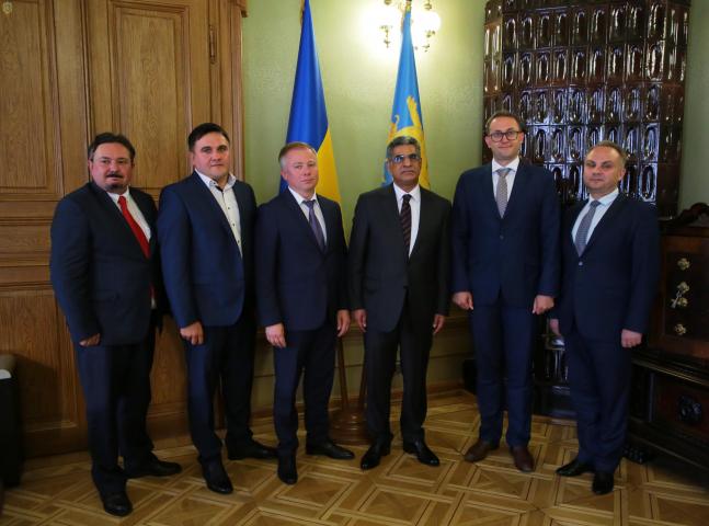 ©️Львівська ОДА: Посол Держави Кувейт 29.07.2019 зустрівся з керівництвом Львівської області