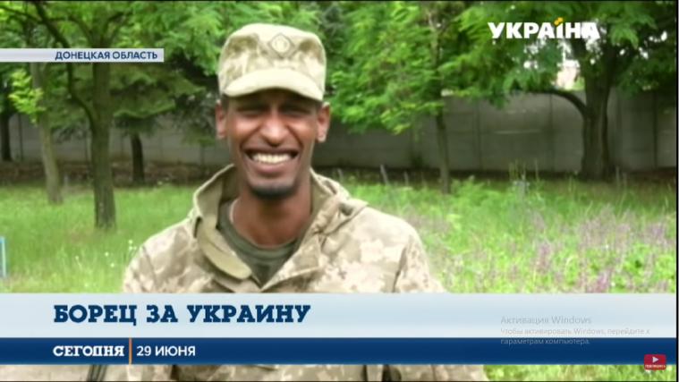 Суданець Ахмед Абдулразік — захисник України