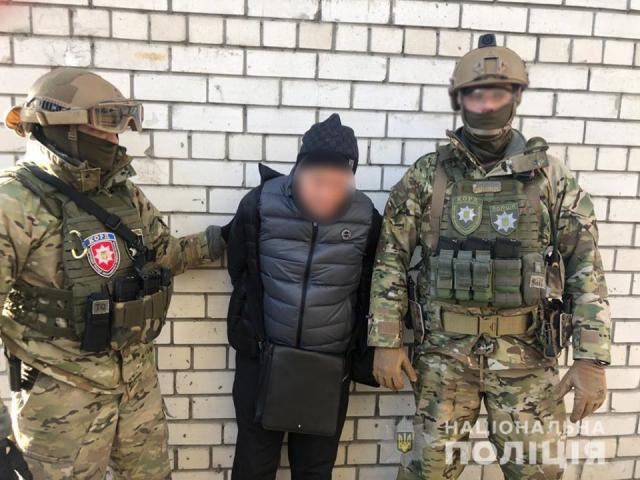 ©️Нацполіція України: 12.01.2020, спецпідрозділ КОРД провів операцію затримання підозрюваних у вбивстві Аміни Окуєвої