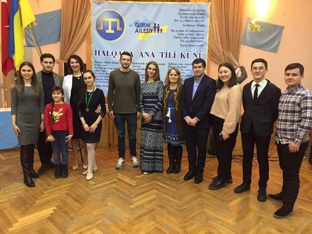 © Кримська родина: Архів. Відзначення Дня рідної мови у «Кримській родині», 2020 рік