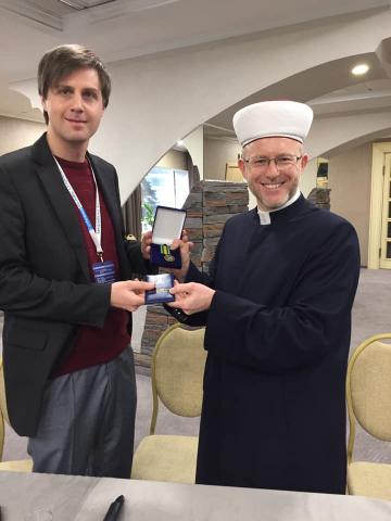Міжнародна наукова конференція розпочалася з нагородження українського вченого