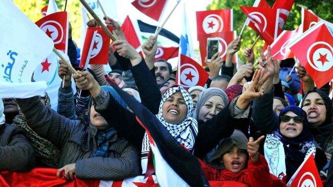 Акції протесту в Тунісі