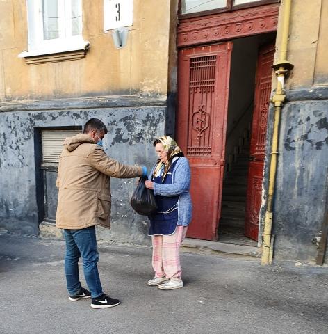 Львовские мусульмане не оставляют в беде нуждающихся горожан