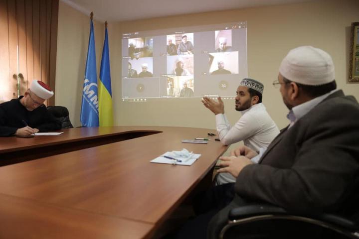 ©️Саід Ісмагілов/фейсбук: 30.03.20, Український центр з фатв та досліджень провів нараду в онлайн режимі