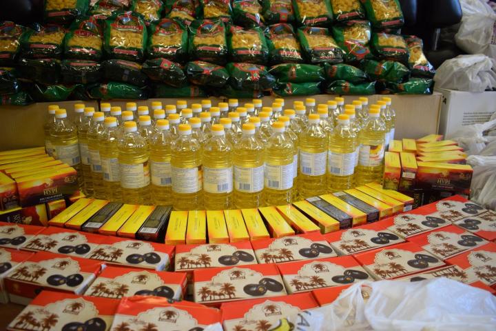 Ісламський культурний центр Дніпра, кампанія «Єдине тіло»: доставка безкоштовної продуктової допомоги нужденним