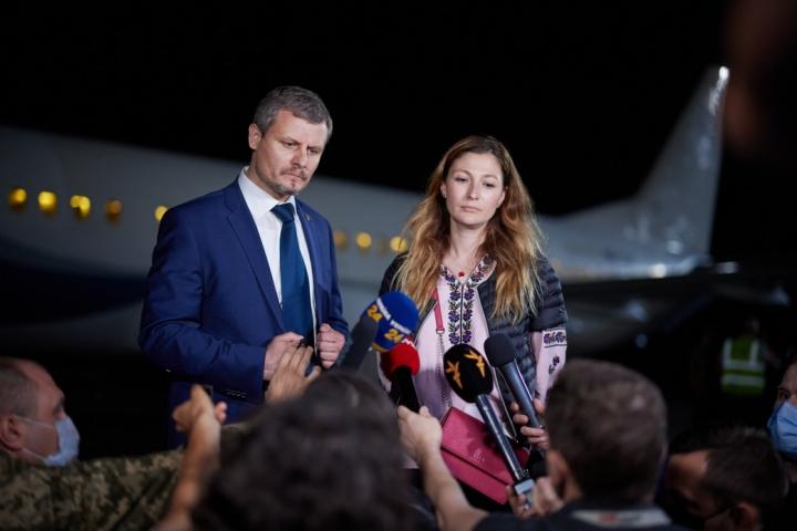 Из сирийских лагерей на родину вернули еще 8 граждан Украины