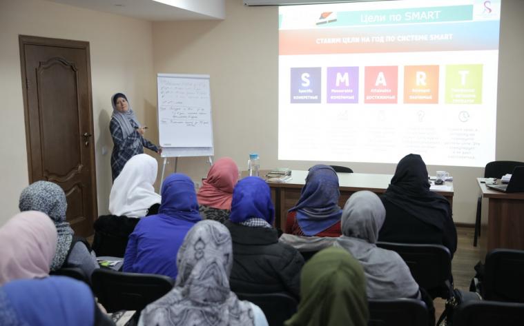 Київські мусульманки напрацьовували навички тайм-менеджменту