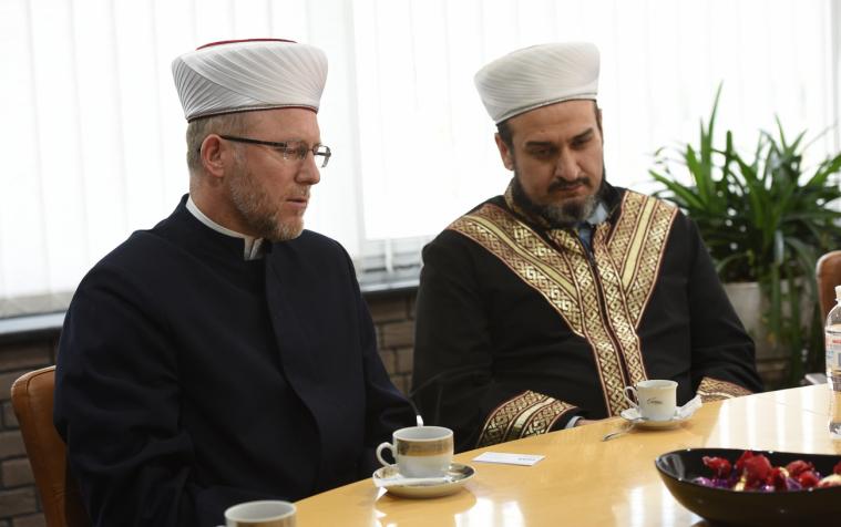 Новообраний Президент України зустрівся з мусульманськими лідерами