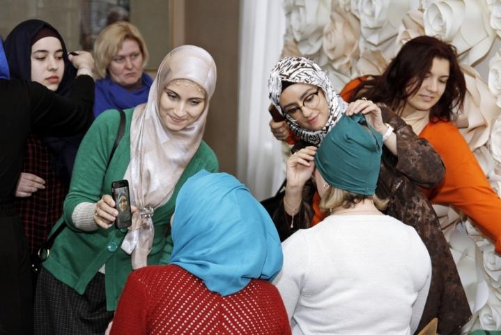 Spring Hijab Day at Vernadskiy University