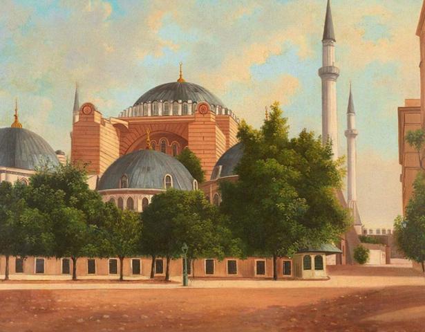 Айя-Софія за часів Османської імперії