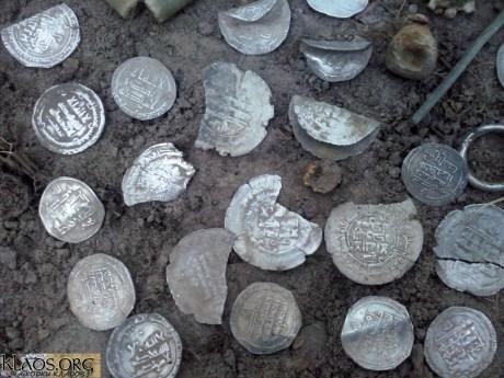 На Сумщине найден клад времен империи Саманидов