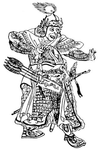 монгольський полководець Субедей