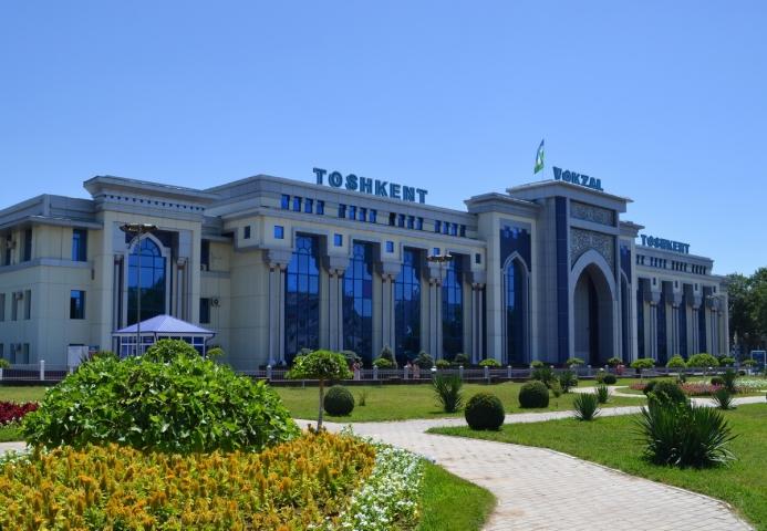Вокзал у Ташкенті. Узбекистан