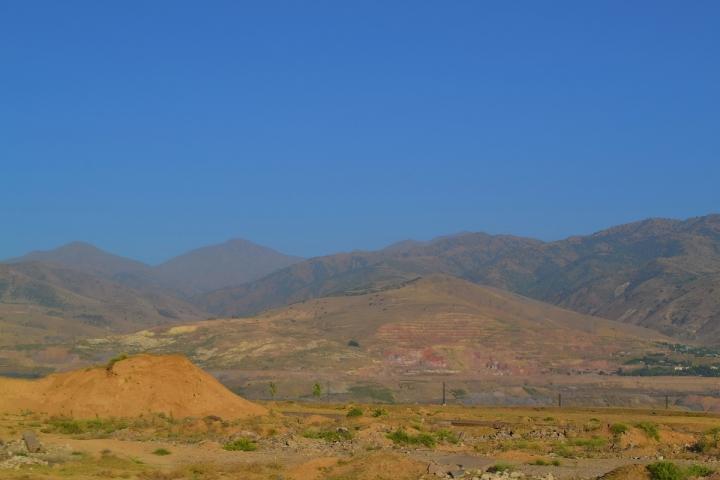 Узбекистан. Горы