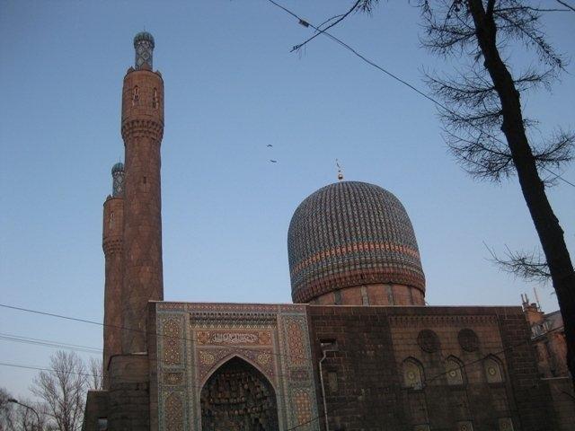 Мечеть в Петербурзі