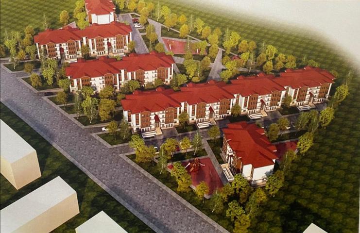 Проєкт містечка для кримських татар, яке збудує Туреччина на Херсонщині