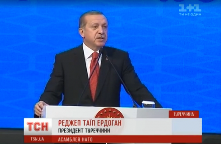 У кримських портах кораблів пiд турецьким прапором не буде, — Ердоган