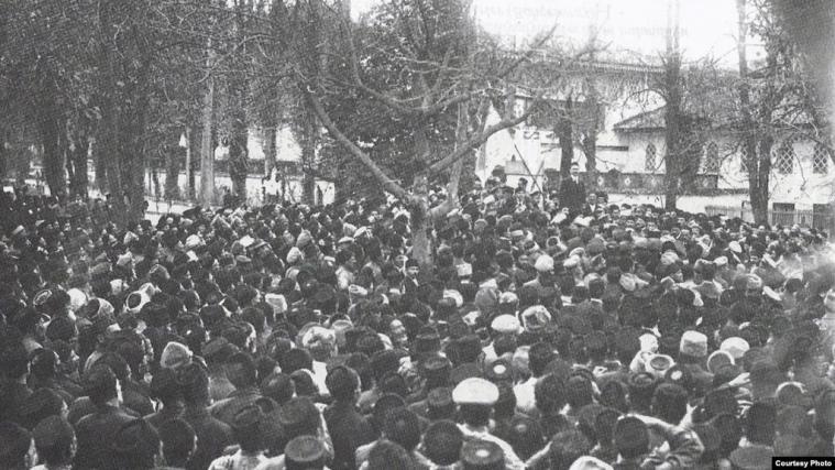 Перший Курултай кримськотатарського народу, листопад 1917 року