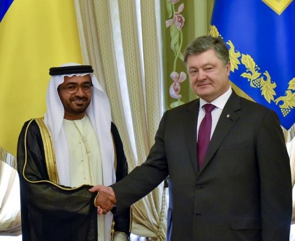 Президент України прийняв вірчі грамоти від посла Об'єднаних Арабських Еміратів