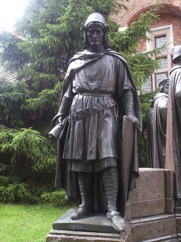 Герман фон Залки - великий магістр Тевтонського ордена
