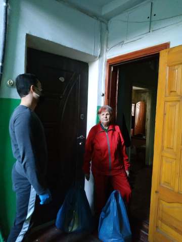 Мусульмани Вінниці допомагають продуктами одновірцям